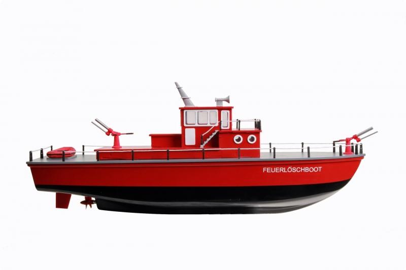 Feuerlöschboot - Bausatz für Einsteiger