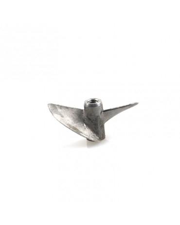 Stahl Propeller Hydro 45 mm / 1,40 Steigung mit M4 Gewindesystem