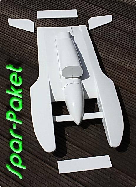 T-5 Hydroplane weißer Rumpf als Setpreis