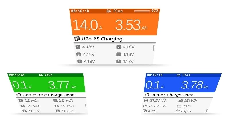 SLS-ISDT SMART CHARGER Q6 Plus - Jetzt lieferbar -