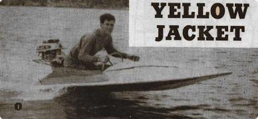 Yellow Jacket Holzbausatz