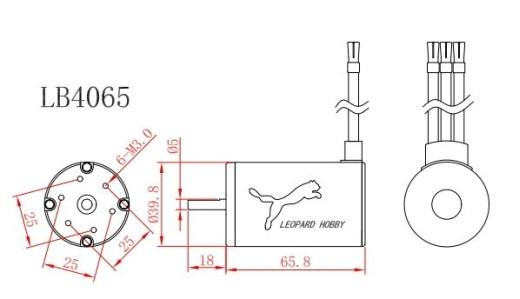 Leopard 4065-B/2.5Y 2100UpM/V