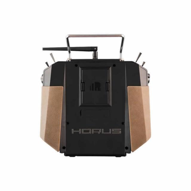 Horus X10 EU/LBT Amber FrSky Sender, dt. Menüführung dt. Sprache mit EVA-Bag