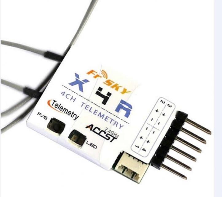 Empfänger X4R CPPM/LBT - Telemetriefähig