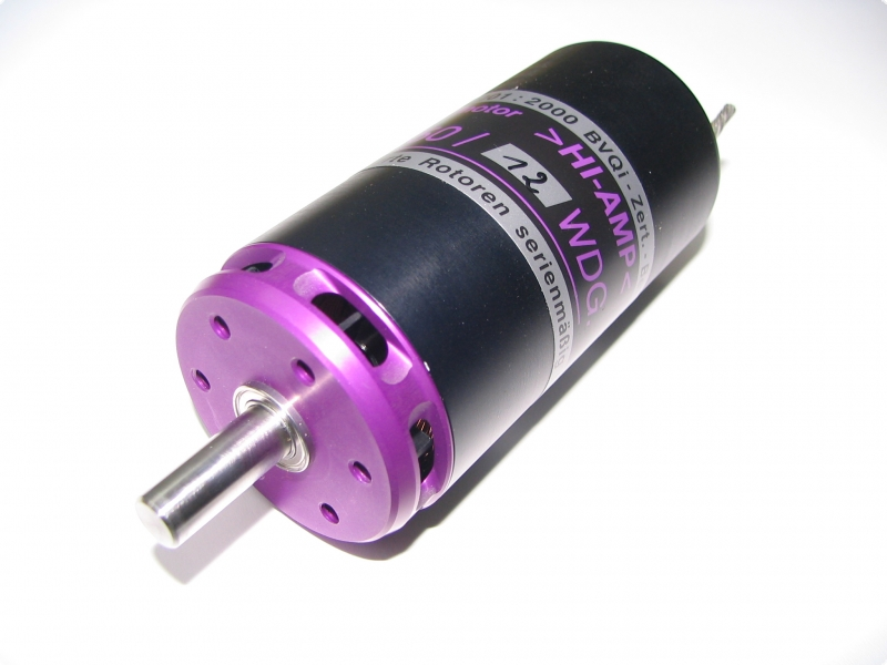 Motorwelle 8 mm Lehner Bürstenlos Motore