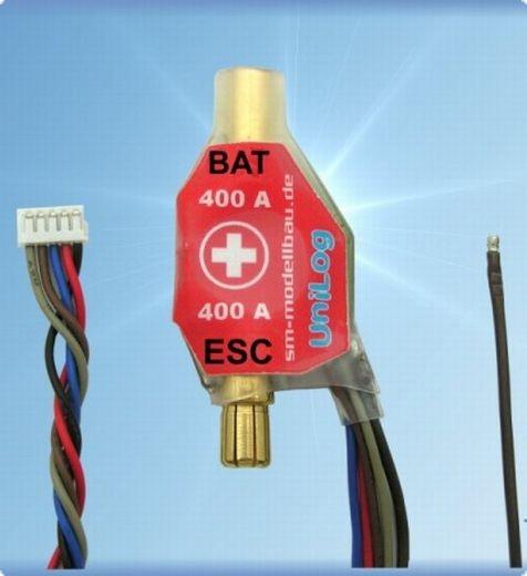 Sensor für Strom 400 A Goldkontakt (für Akkus mit Buchse am Pluspol)