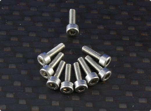 Zylinderschraube mit Innensechskant M3 x 14 mm