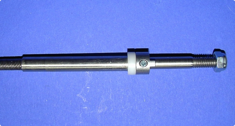 Ersatzflexwelle 4,7 links mit 6 mm Welle und 4,7 DD