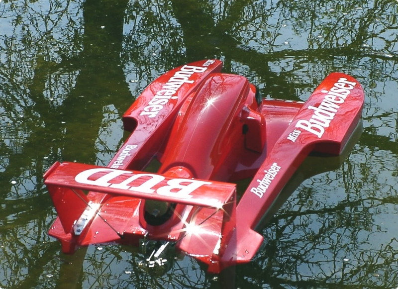 Twin Wing T-4 MS 1:8 Hydroplane
