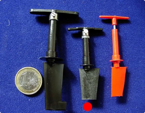 Ruderanlage Mini   Kunststoff/Stahl
