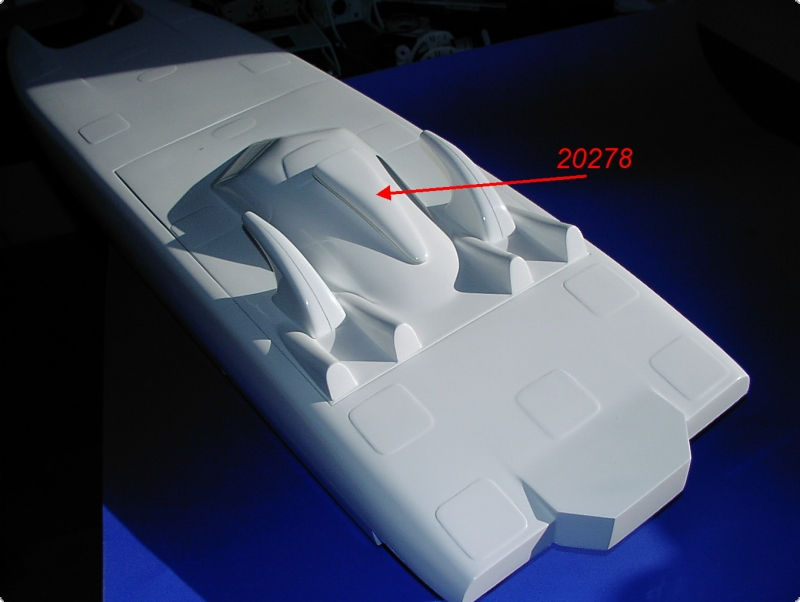 H&M Scale Parts Scale Airscoop Size 2