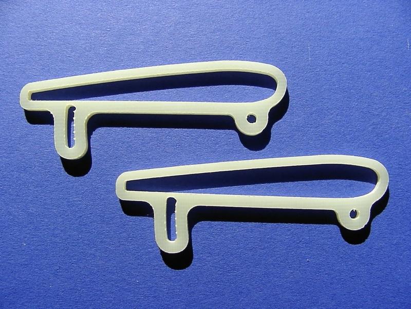 Spoilerverstellung für Lifter CNC gefräst
