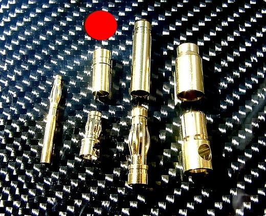 Goldkontaktstecker 3,5 mm Buchse