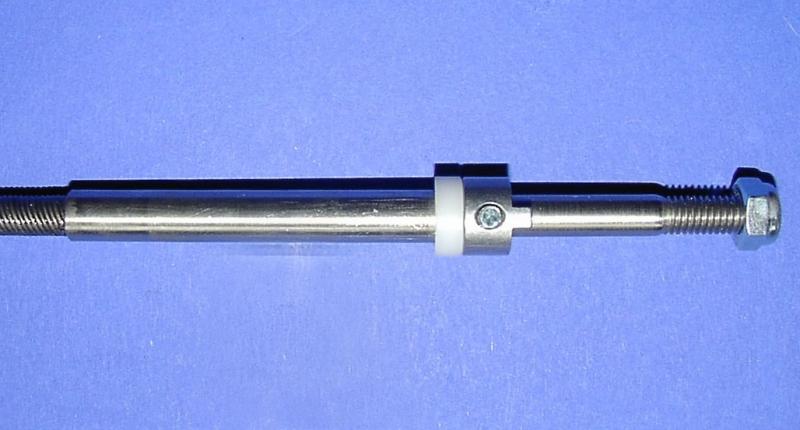 Ersatzflexwelle 6,3li. mit 8 mm Welle und 6,3 DD Flexwelle in linkslaufend.