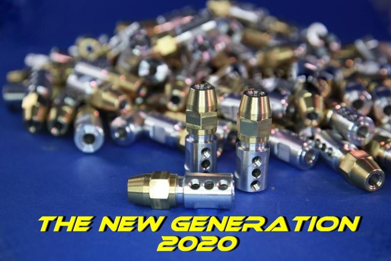 Spannzange H&M 8 / 6,3  Größe II  Neue Generation 2020