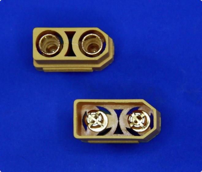 Goldkontakt  XT90-S  Anti-Spark  1 Paar Stecker & Buchse