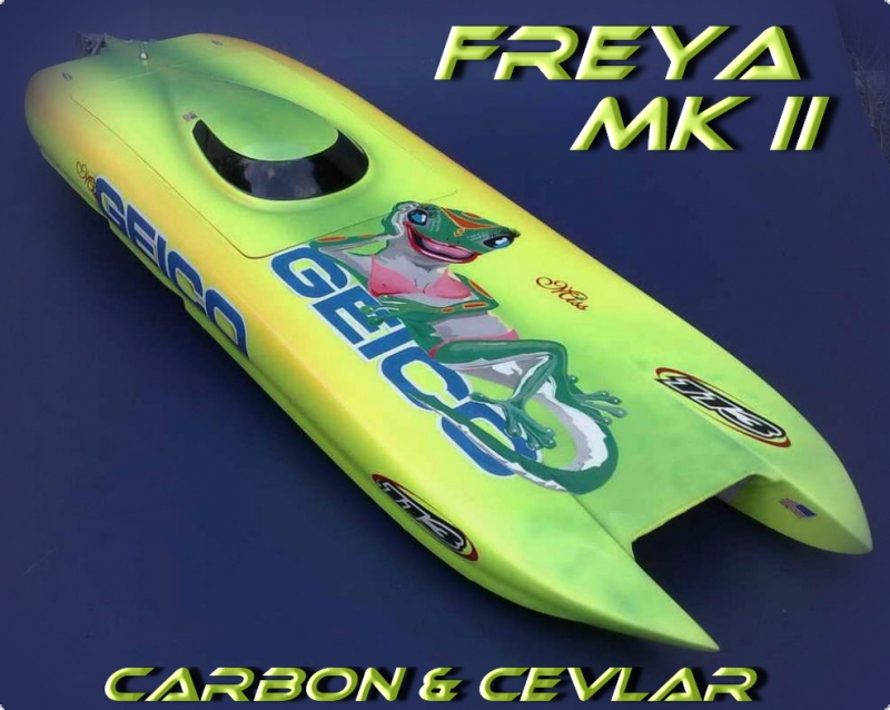 FREYA Mk II WE carbon & aramid