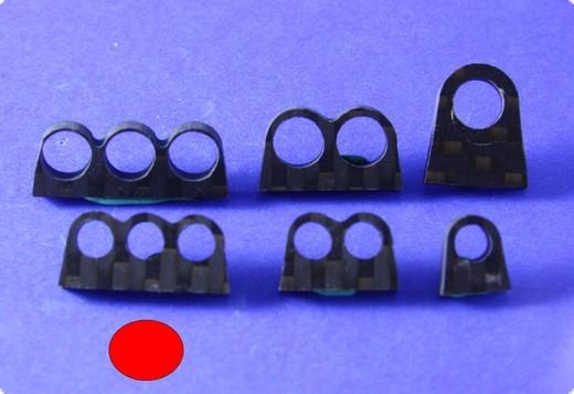Schlauchführung dreifach für 5 mm Schläuche