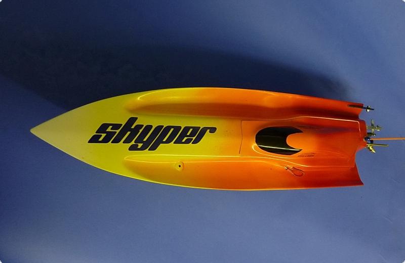 Skyper Mono I WE Mono Rennboot