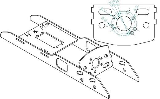 Einbaurahmen CFK 1 -  Sonderedition -