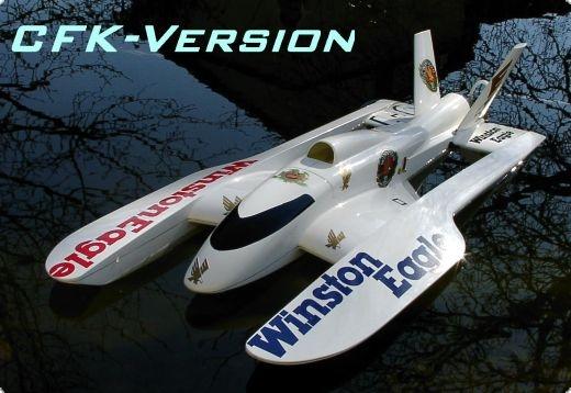 Eagle Dual Wing Hydroplane WE Carbon & Aramid