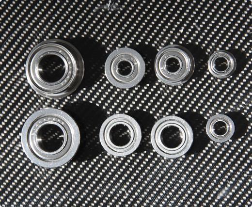 Flanschkugellager für 19er Serie 4mm