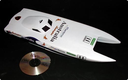 Maritmo Micro CFK WE Micro Offshore Katamaran