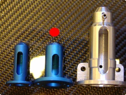 Motorflansch 500 für 480/500-600 Motore Lochkreis 19 und 25 mm
