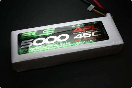SLS APL MAGNUM 5000mAh 4S1P 14,8V 45C/90C  V2