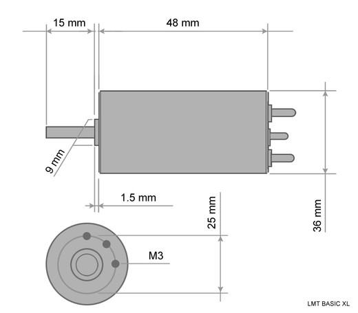 Lehner Bürstenlos Serie Basic XL